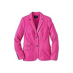 Lands' End - Pink luxe twill blazer