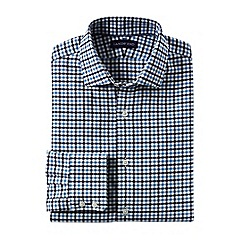 Lands' End - Blue men's spread collar town country shirt