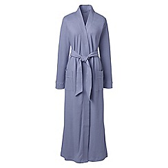 Lands' End - Purple petite cotton sleep-t dressing gown