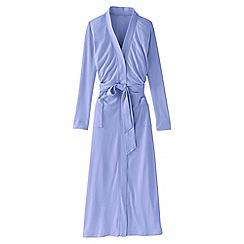 Lands' End - Purple women's cotton sleep-t dressing gown