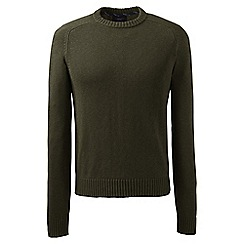 Lands' End - Green drifter cotton sweater