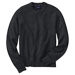 Lands' End - Grey men's drifter cotton sweater