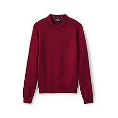 Lands' End - Red drifter cotton sweater