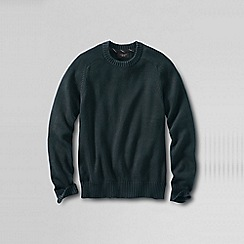 Lands' End - Green men's drifter cotton sweater
