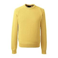 Lands' End - Yellow drifter cotton sweater