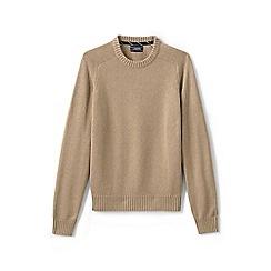 Lands' End - Beige drifter cotton sweater