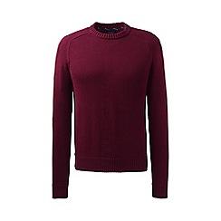 Lands' End - Purple drifter cotton sweater