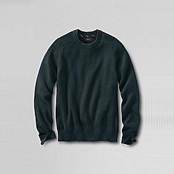 Lands' End - Green men's drifter cotton sweater