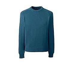 Lands' End - Blue drifter cotton sweater