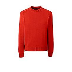 Lands' End - Red drifter cotton sweater