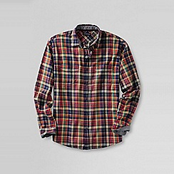 Lands' End - Orange men's forewind twill shirt