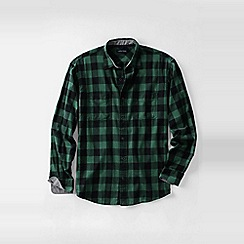 Lands' End - Green men's forewind twill shirt