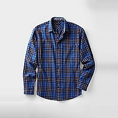 Lands' End - Blue men's forewind twill shirt