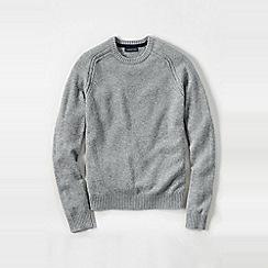 Lands' End - Grey men's lambswool sweater