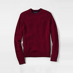Lands' End - Red men's lambswool sweater
