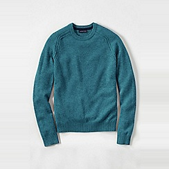 Lands' End - Blue men's lambswool sweater