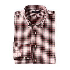 Lands' End - Red men's buttondown town country shirt