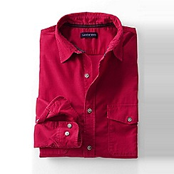 Lands' End - Pink men's cord shirt