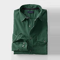 Lands' End - Green men's cord shirt