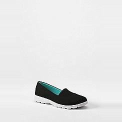 Lands' End - Black  regular alpargata slip-on shoes