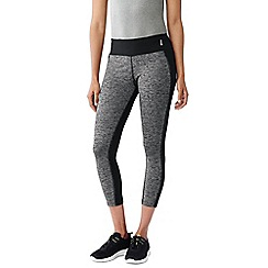 Lands' End - Grey spacedye control workout capris