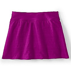 Lands' End - Purple regular textured swimmini