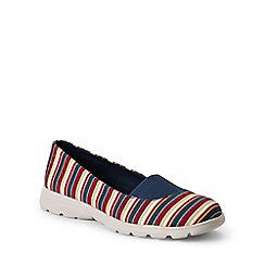 Lands' End - Multi  wide alpargata slip-on shoes