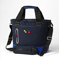 Lands' End - Blue racing squall tote bag
