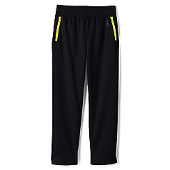Lands' End - Boys' Black tricot tracksuit bottoms