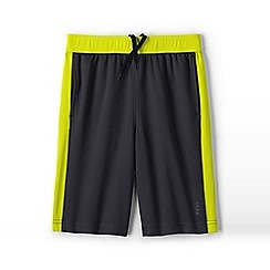 Lands' End - Grey boys' active shorts