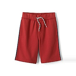 Lands' End - Boys Toddler Red loopback jersey shorts