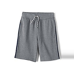 Lands' End - Grey boys' loopback jersey shorts