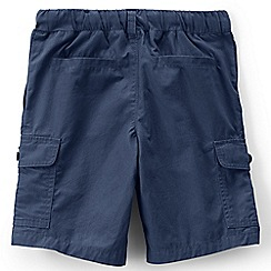 Lands' End - Blue boys' cargo beach shorts