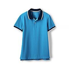 Lands' End - Blue boys' pique polo