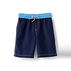 Lands' End - Blue boys' swim shorts