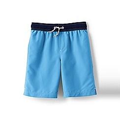 Lands' End - Blue boys' swim shorts