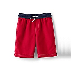 Lands' End - Red boys' swim shorts