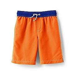 Lands' End - Orange boys' swim shorts