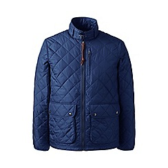 Lands' End - Blue quilted primaloft jacket