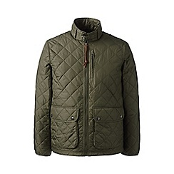 Lands' End - Green quilted primaloft jacket