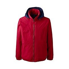 Lands' End - Red men's spring squall® jacket