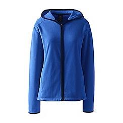 Lands' End - Blue everyday fleece hooded jacket