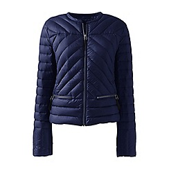 Lands' End - Blue lightweight down jacket