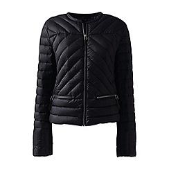 Lands' End - Black lightweight down jacket