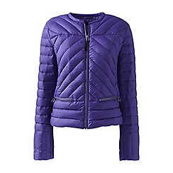 Lands' End - Purple lightweight down jacket