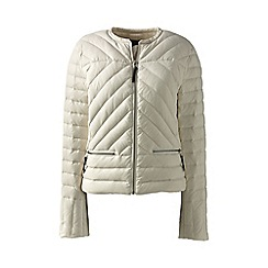 Lands' End - Beige lightweight down jacket