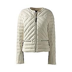 Lands' End - Beige lightweight down jacket