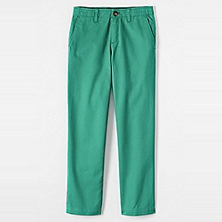 Lands' End - Blue boys' iron knee cadet trousers