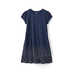 Lands' End - Blue girls' a-line dress