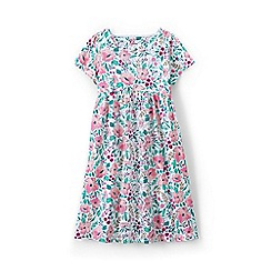 Lands' End - Multi girls' square neck dress